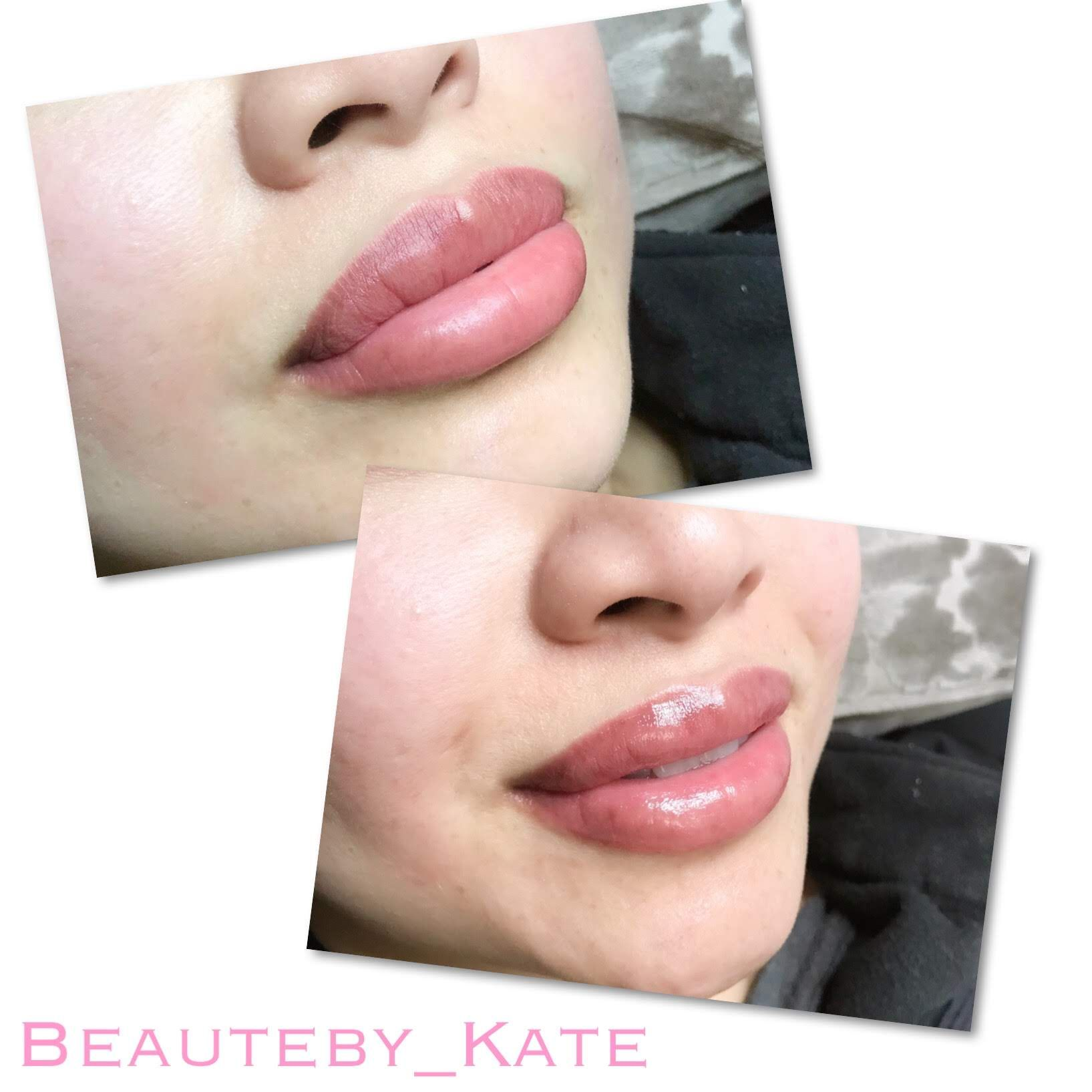 Juicy Lip Blush Aquarelle Lips Semi Permanent Lips Tattoo