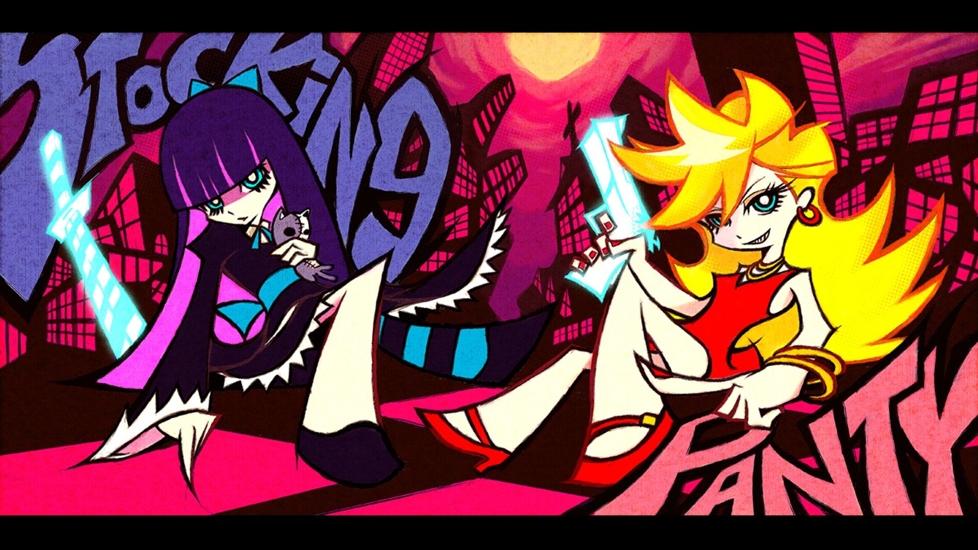 Anime Panty Stocking With Garterbelt Wallpaper Panty And