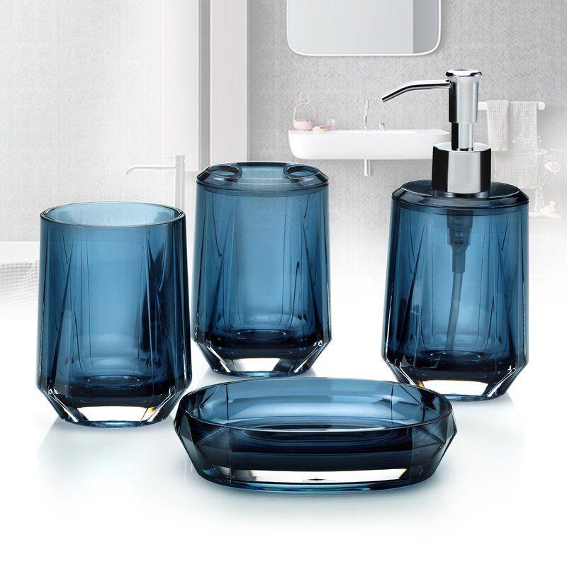35++ Blue bathroom accessories sets ideas