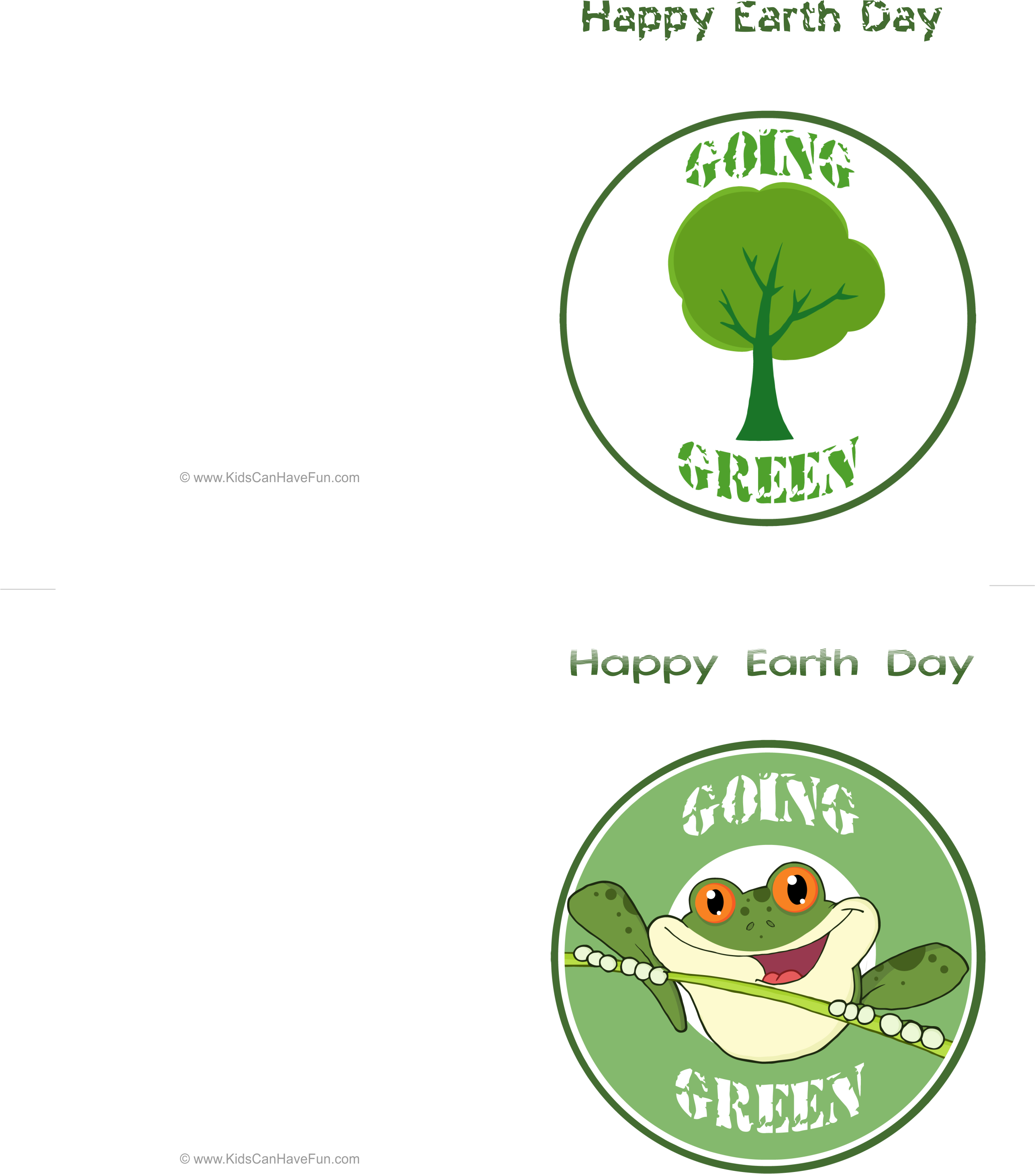 Happy Earth Day Cards