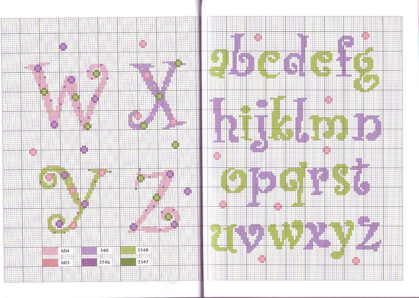 Ricami e schemi a punto croce gratuiti cross stitch baby for Piccoli ricami punto croce per bambini