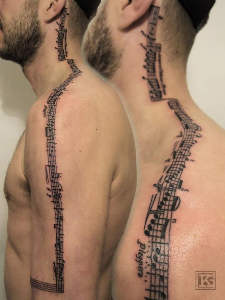 Meerak Meinohg Neck Tattoo Music Tattoos Tattoos