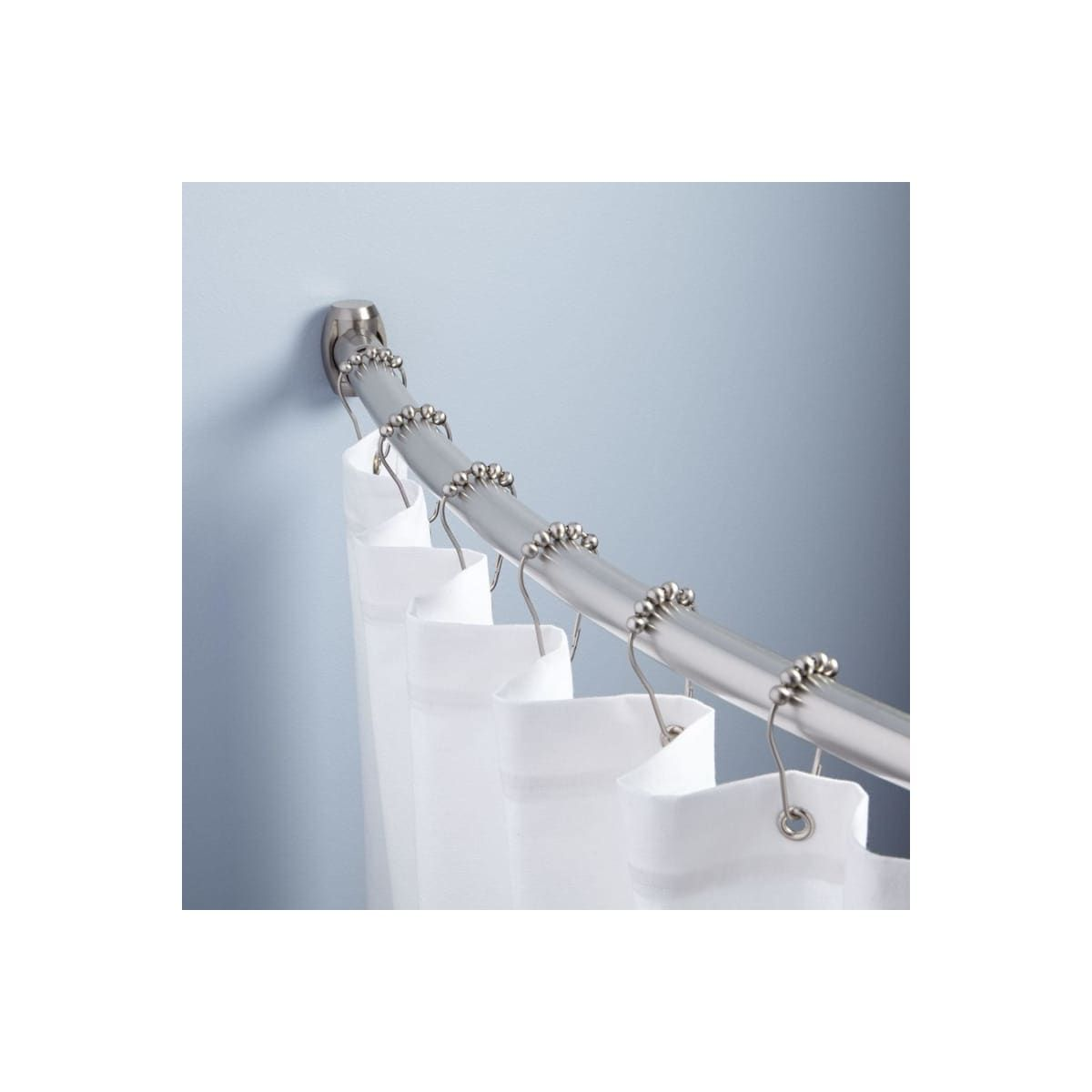 Signature Hardware 911700 60 12 Shower Curtain Rods Curtains