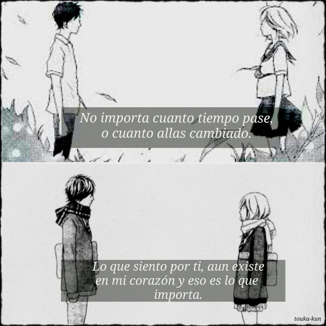 Ao Haru Ride Frases Anime By Touka Kun Collage Animes Con Frases