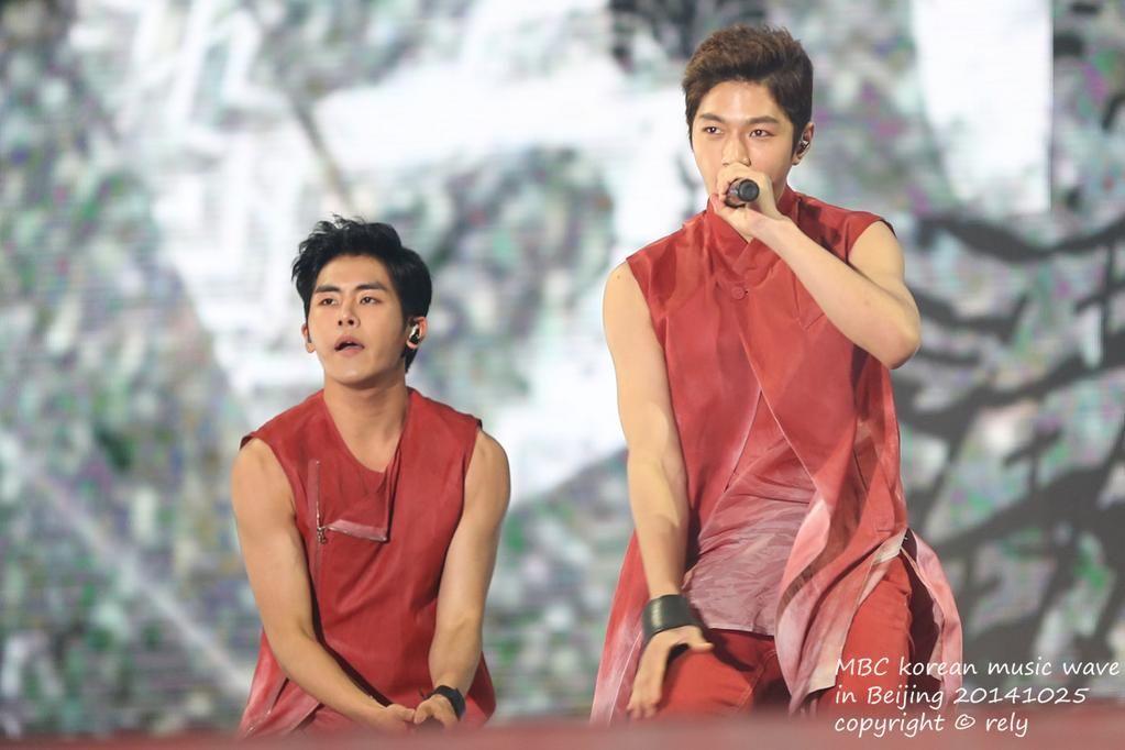 141025 Korean Music Wave In Beijing #INFINITE ♡
