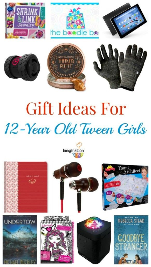 What gifts will 12 year old tween girls like? Here's a list of books,  games, tech and more that they'll love. - Gifts For 12-Year Old Girls Gifts For Kids Pinterest Gifts