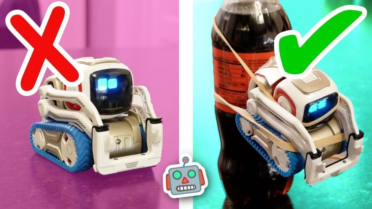 Cozmo Tries Ridiculous Life Hacks From 5 Minute Crafts