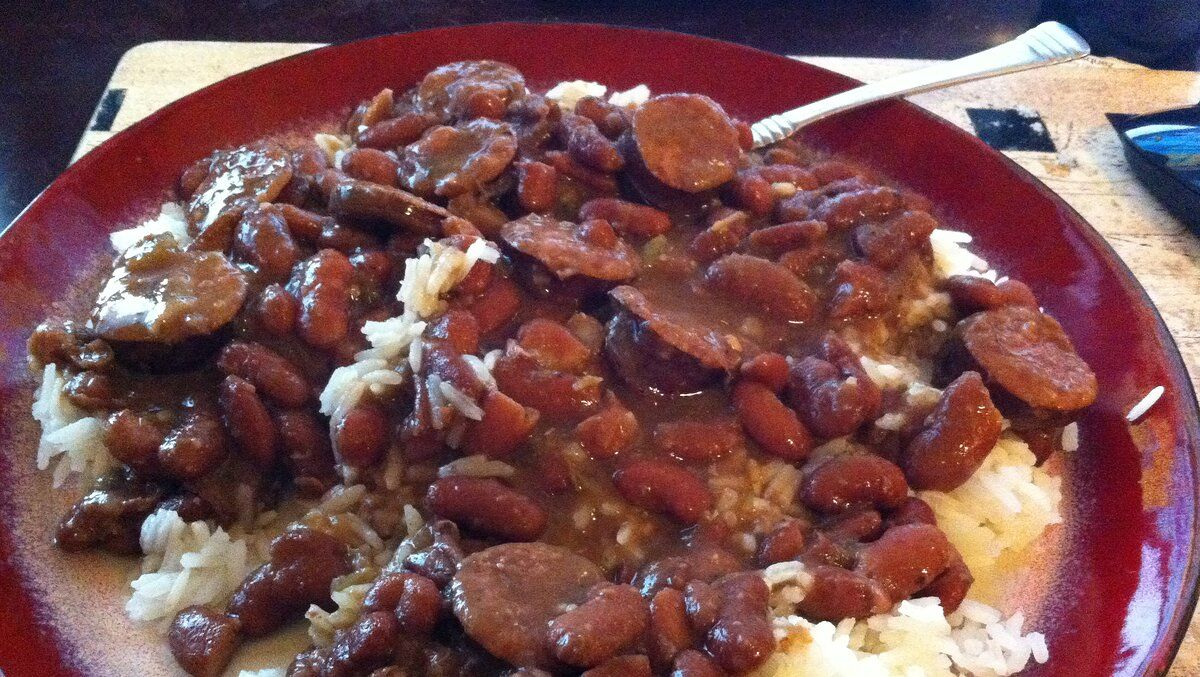 Chef John S Red Beans And Rice Recipe Red Beans Food Recipes