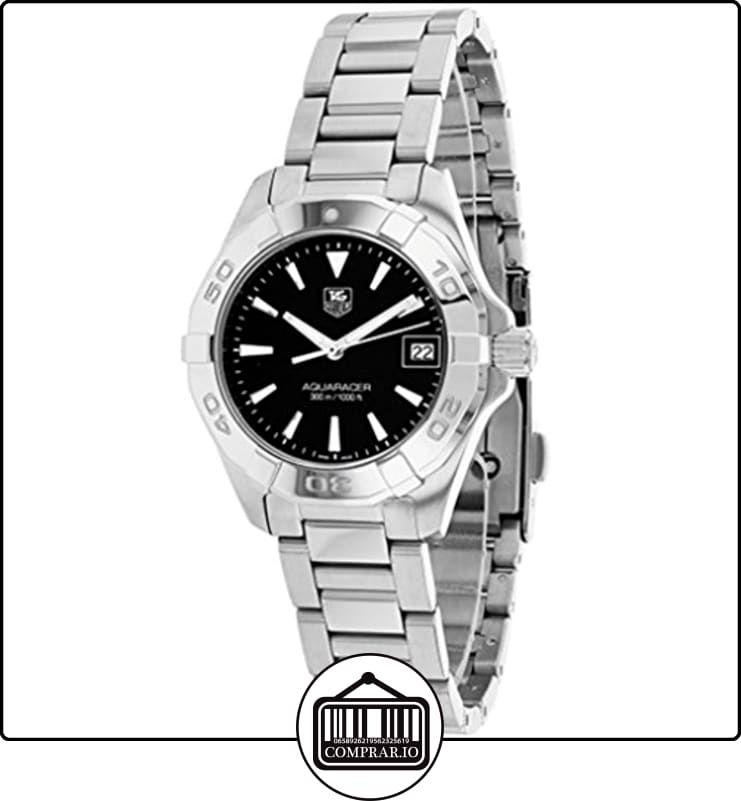 TAG Heuer WAY1410.BA0920 - Reloj para mujeres, correa de acero inoxidable color plateado  ✿ Relojes para mujer - (Lujo) ✿