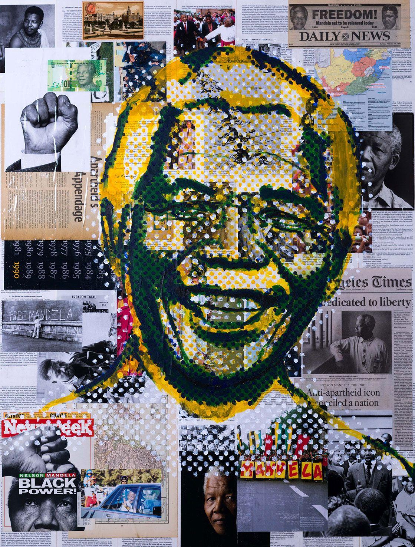 Nelson Mandela #iconoclast #wallart #nelsonmandela #southafrica ...