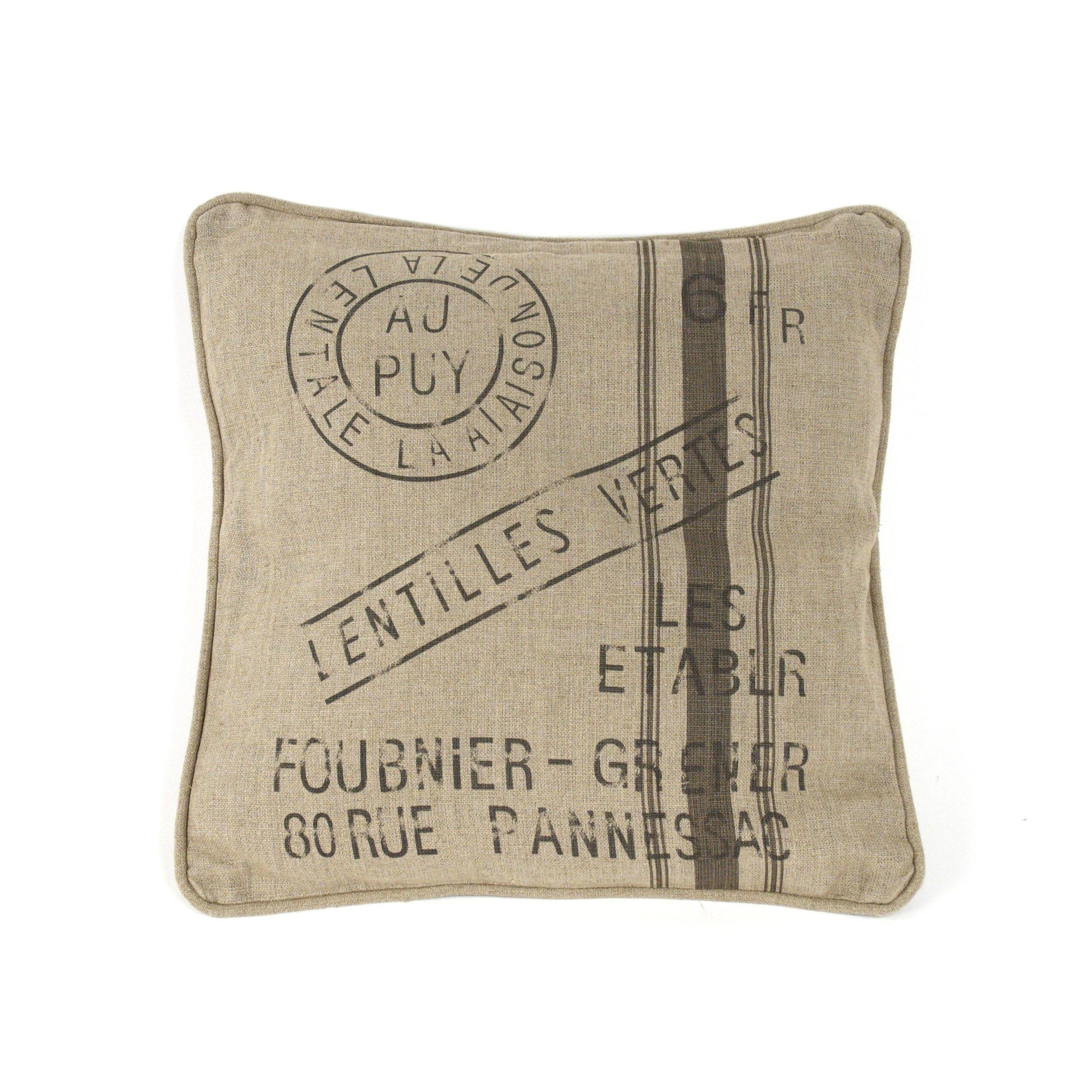 Zentique Inc. French Inspired Linen Throw Pillow | Alexis Conolly ...