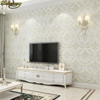 Beibehang European Non Woven Damascus Self Adhesive Wallpaper Bedroom Living Room Tv Backgroun Colourful Living Room Decor Wall Wallpaper Wallpaper Living Room