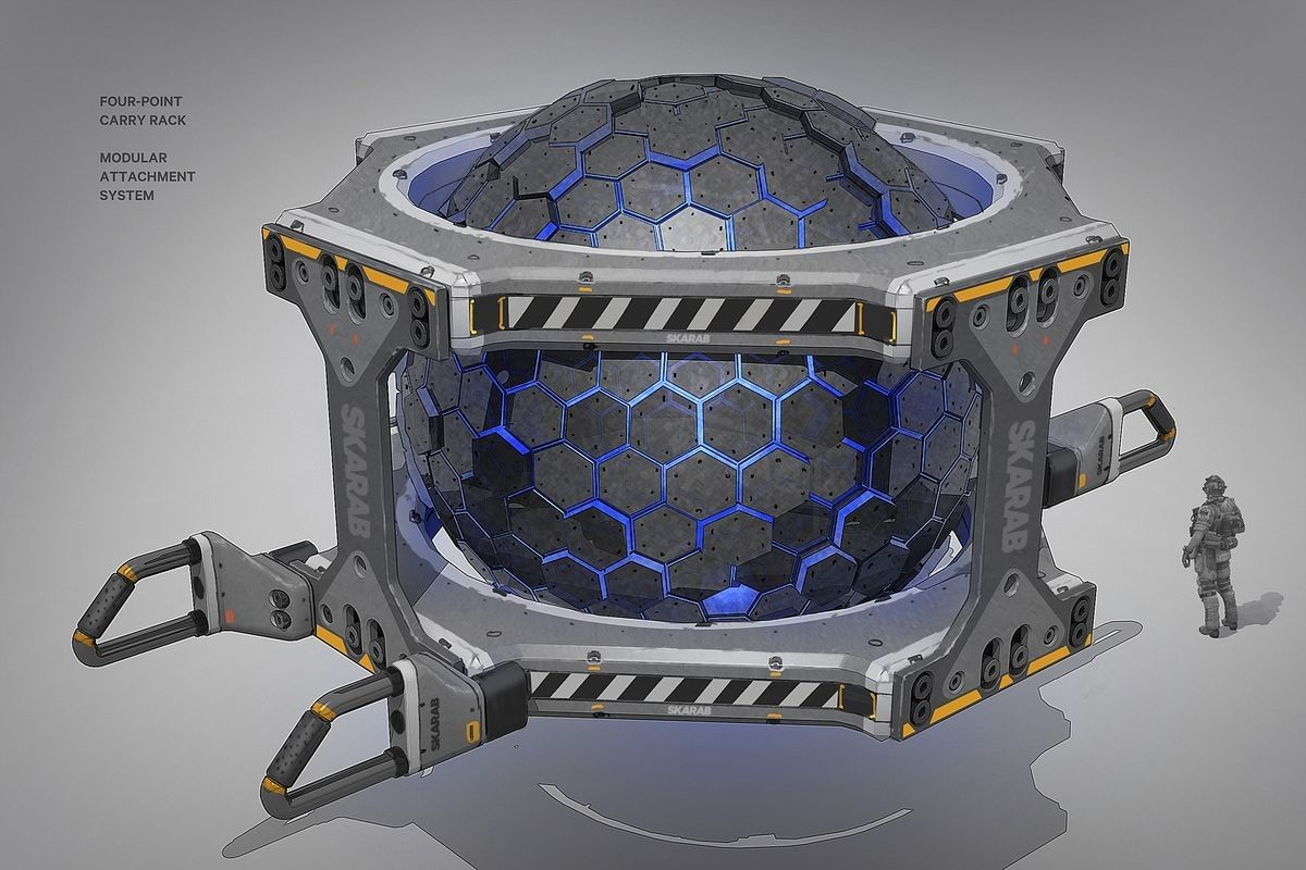 ArtStation - Titanfall 2 Yup That's a Space Crate, Danny Gardner