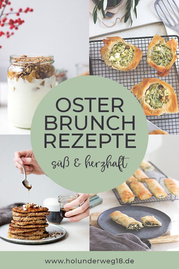 Photo of Osterfrühstück, süße und herzhafte Rezepte für den Osterbrunch
