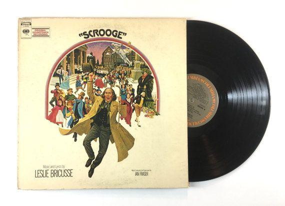 A Christmas Carol Soundtrack.Scrooge Soundtrack Lp Album Leslie Bricusse Albert Finney 1970