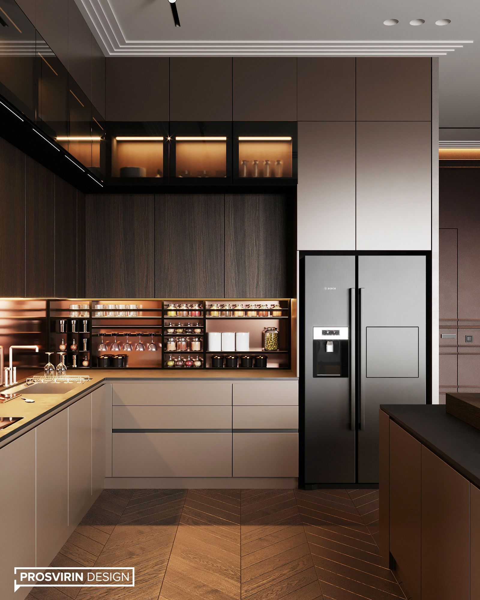 Contemporary Kitchen Design Benefits And Types Of Contemporary Kitchen Contemporary Kitchen Design Kitchen Room Design Elegant Kitchen Design Kitchen Design