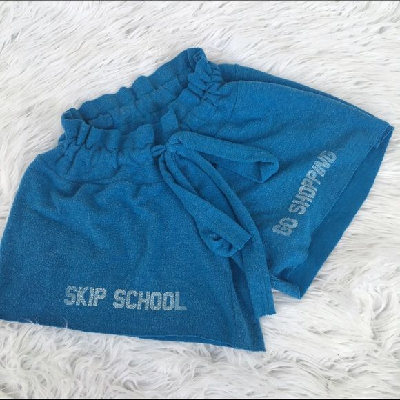 WILDFOX SZ SMALL SKIP SCHOOL SHORTS as seen Wildfox Shorts