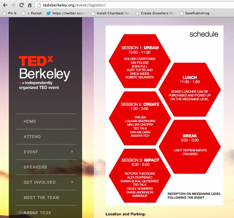 love this design for an event program agenda sonal choudhury