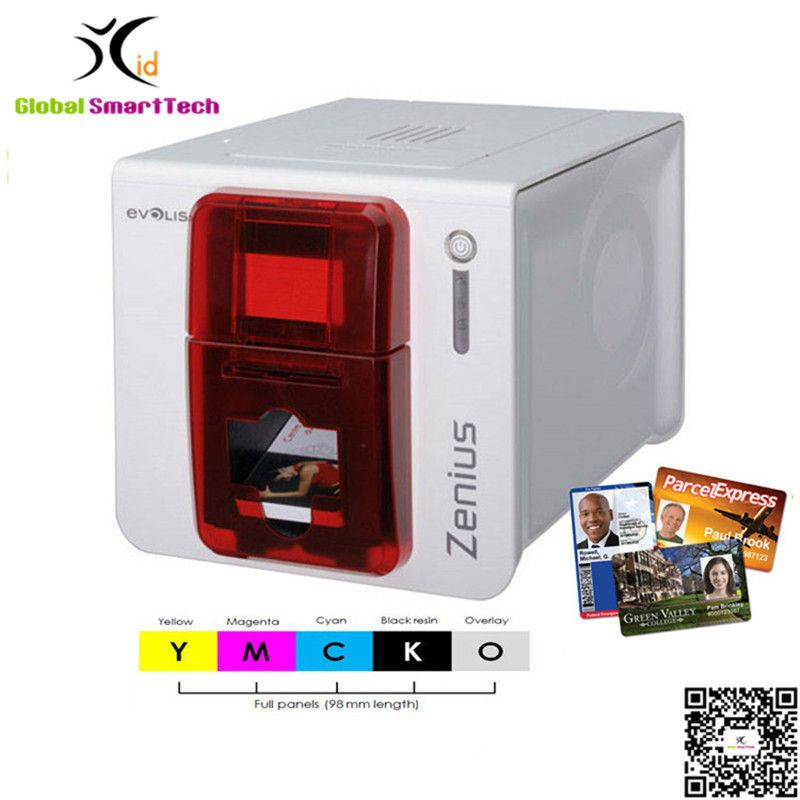evolis primacy dual sided id card printer credit card printer replace pebble 4 printer - Credit Card Printer