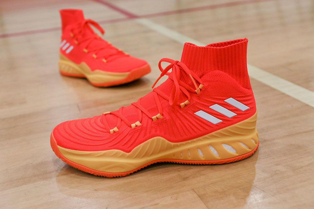 7cd9ee5951d2 Candace Parker s adidas Crazy Explosive 17  All-Star Game  PEs ...