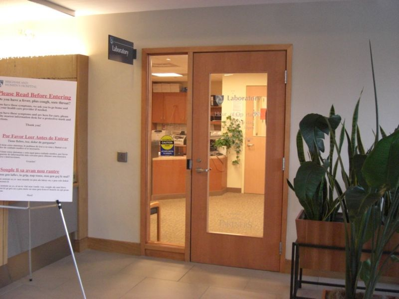 Commercial Interior Doors With Glass Directors Office Interior