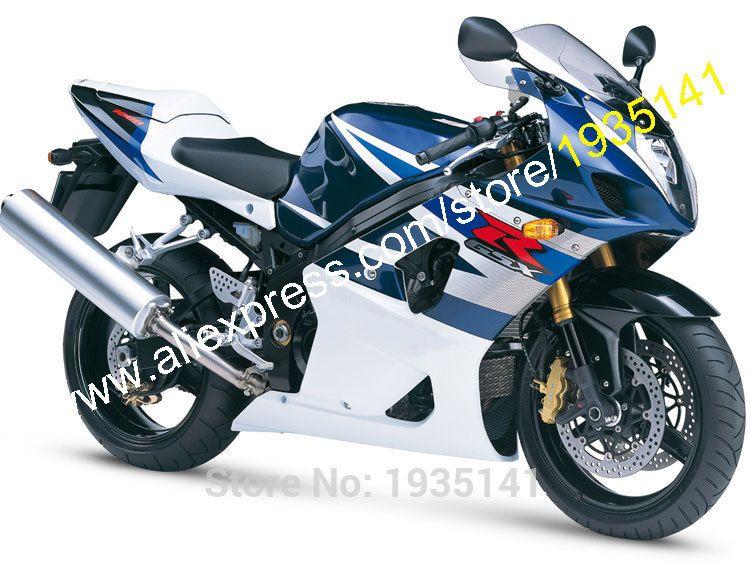 Hot Sales For Suzuki 2003 2004 Gsxr1000 Fairing Gsx R1000 K3 03 04 Gsxr 1000 Blue White Motorbike Fairing Injection Mo Suzuki Gsx Suzuki Gsxr Suzuki Gsx R 750