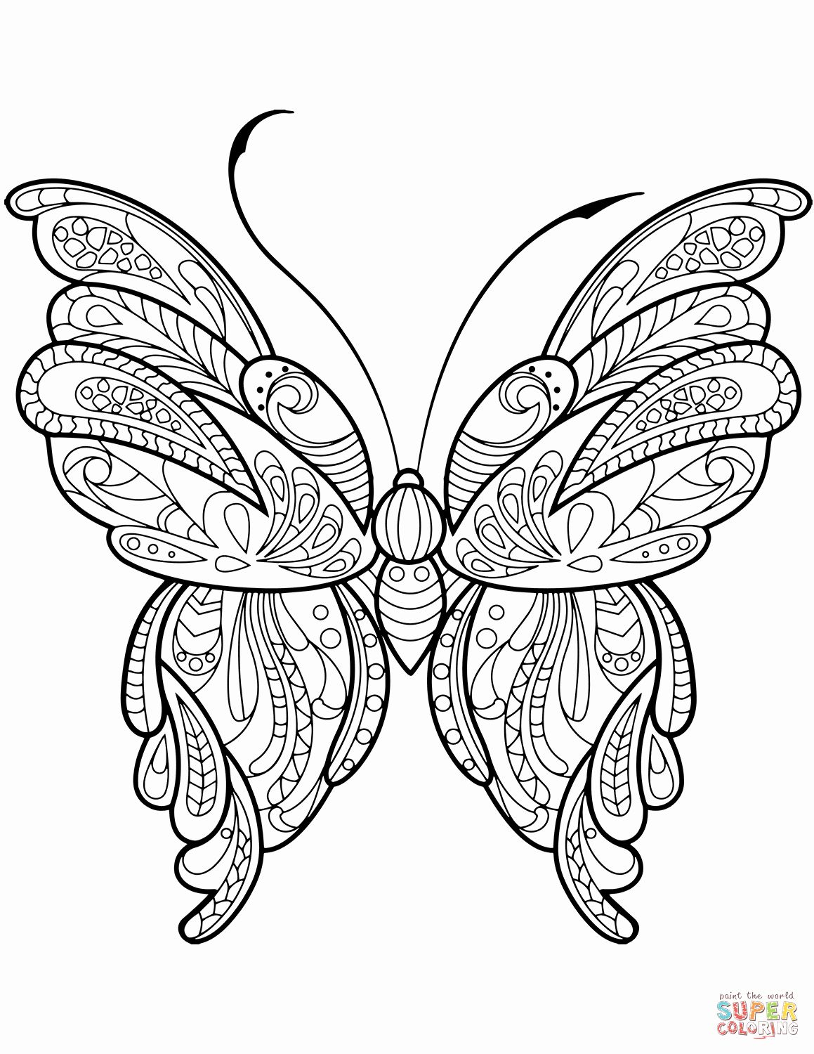 Free Printable Zentangle Coloring Pages In