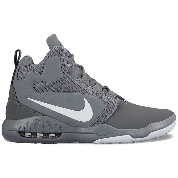 buy online cca11 7d78c Nike Air Conversion Men s Basketball Shoes ( 90) ❤ liked on Polyvore  featuring men s fashion, men s shoes, men s athletic shoes, black, mens  shoes, ...