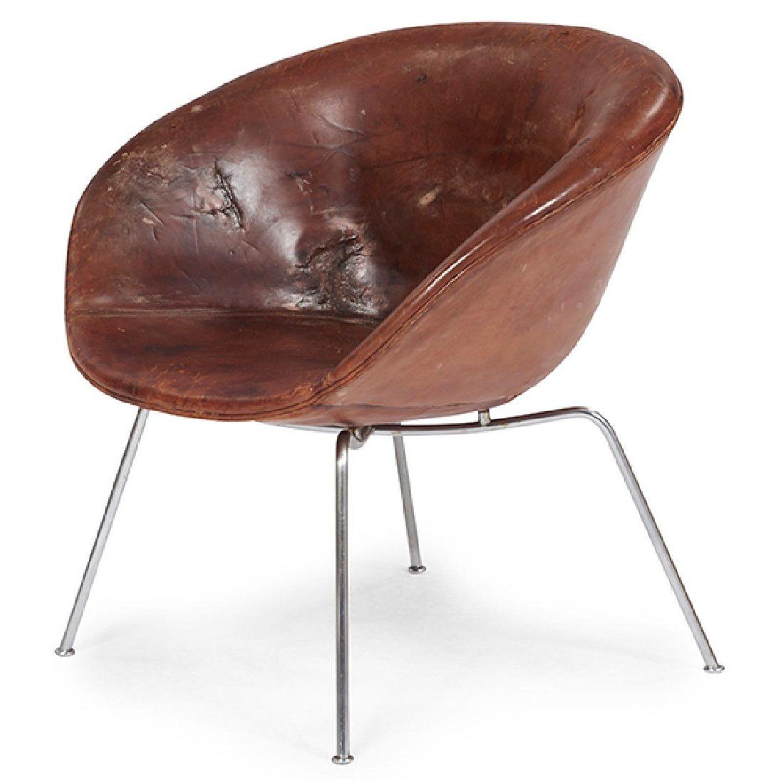 Arne Jacobsen 1902 1971 for Fritz Hansen Pot chair on