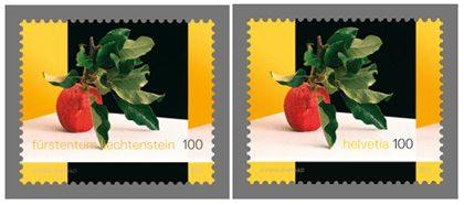 """2011 Switzerland - Liechtenstein joint stamp issue:  Switzerland - Liechtenstein joint stamp issue Liechtenstein and Switzerland have released a joint stamp issue entitled """"Horizon Switzerland"""".   The distinctive feature of this stamp is surely that it is obtainable in both Switzerland and Liechtenstein in the same currency."""