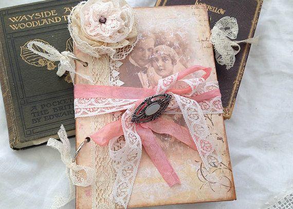 Wedding Guest Book Style Vintage Twenties Custom 48 Pages