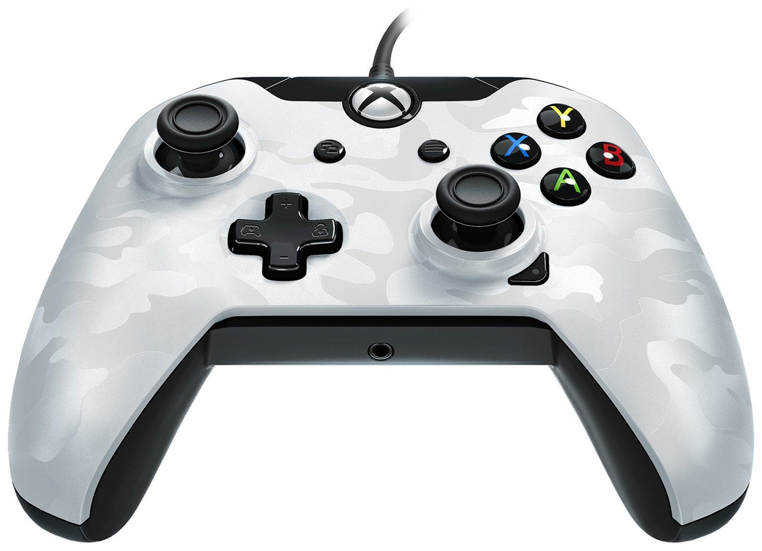 Pdp Camo Xbox One Controller White In 2020 Xbox One Controller Xbox One Xbox One White