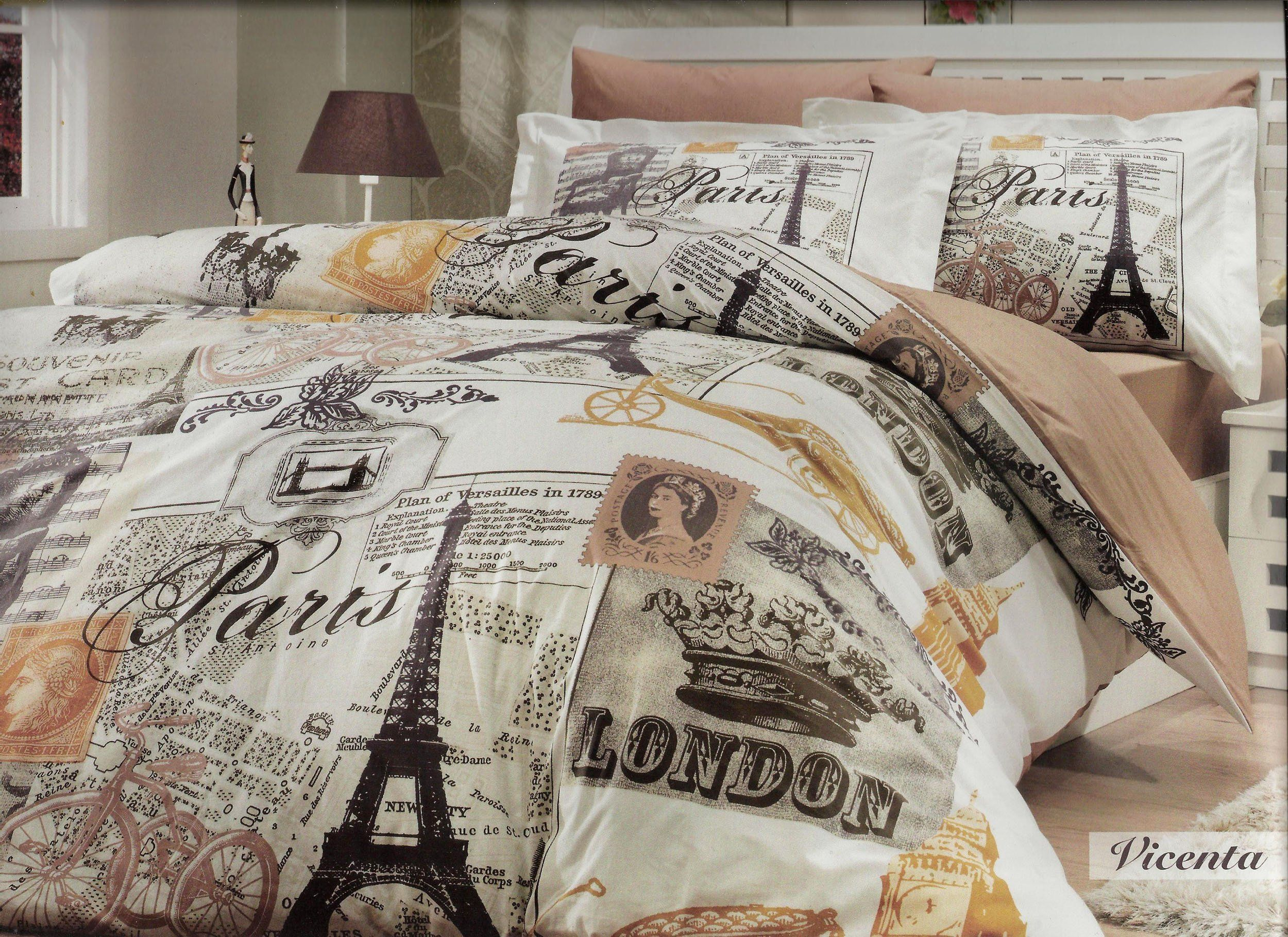 Guest Room Bedding Theme Paris London