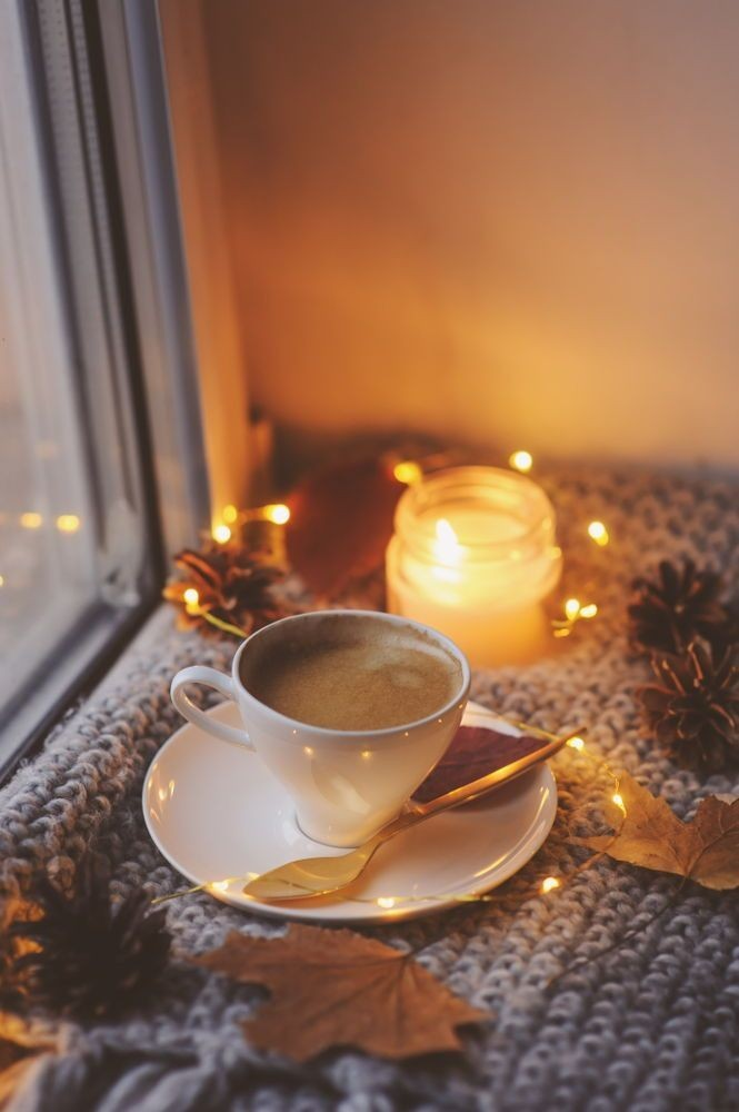 Oooo. . . I want this quiet time! Autumn cozy, Christmas