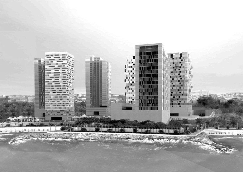 Progetto per un complesso turistico a Costanza Romania, Costanza, 2011 - Foti Fabrizio