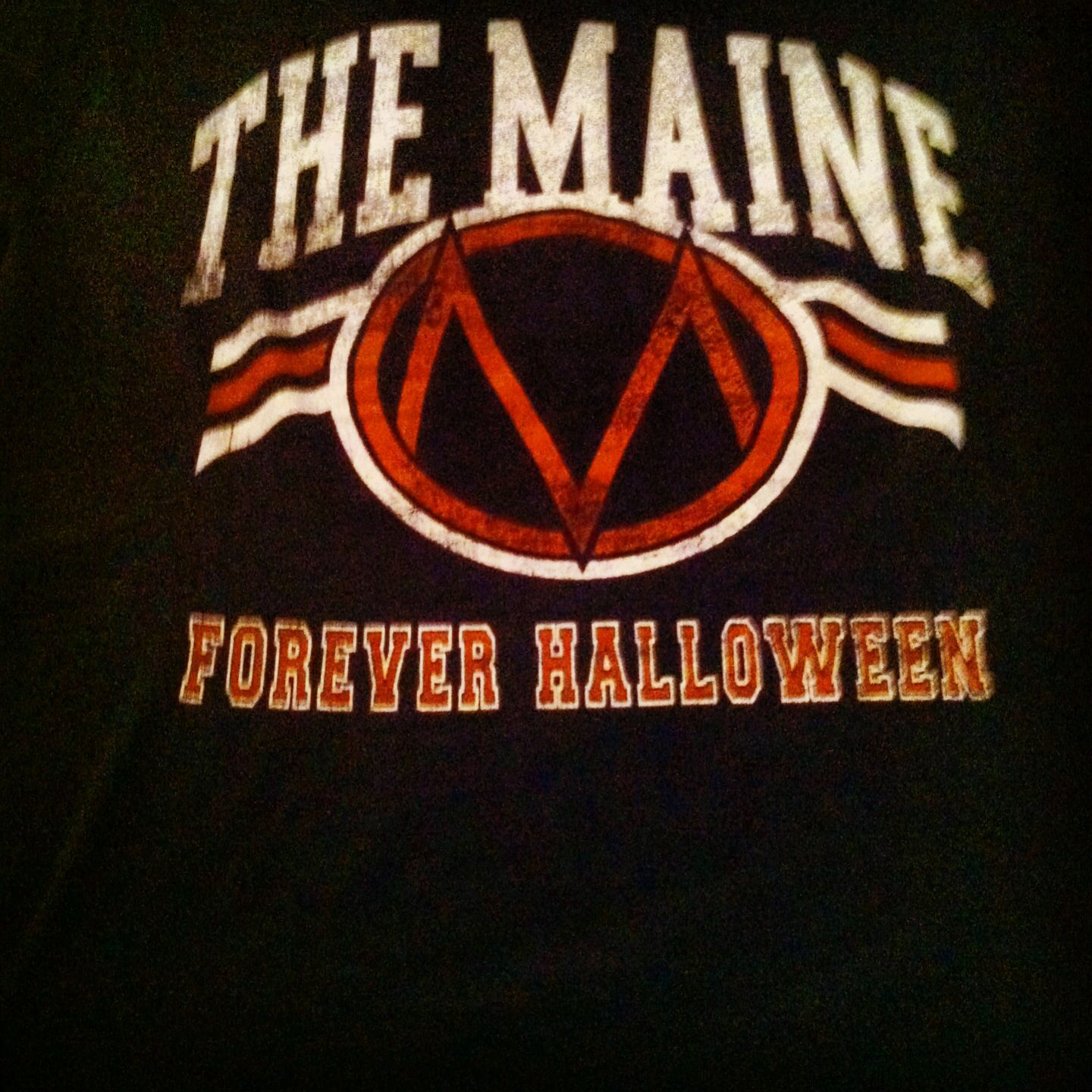 forever halloween tee from the maine/anberlin tour. | the maine
