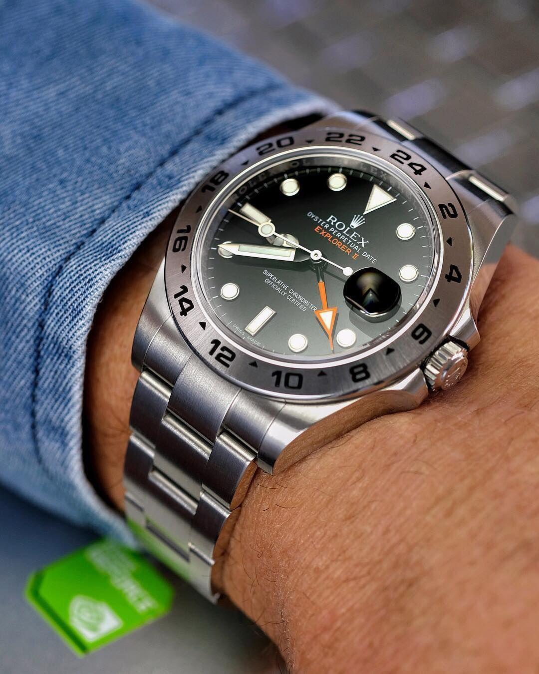 "@nicedily on Instagram: "". Rolex Explorer II 216570 . #rolexexplorer2 #rolexexplorer2blackdial #rolex #watch #watches #watchgeek #horology #wristwatch #dailywatch…"" #rolexexplorer @nicedily on Instagram: "". Rolex Explorer II 216570 . #rolexexplorer2 #rolexexplorer2blackdial #rolex #watch #watches #watchgeek #horology #wristwatch #dailywatch…"" #rolexwatches"