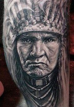Apache Tattoo Google Search Tattoos Tattoos Realism Tattoo