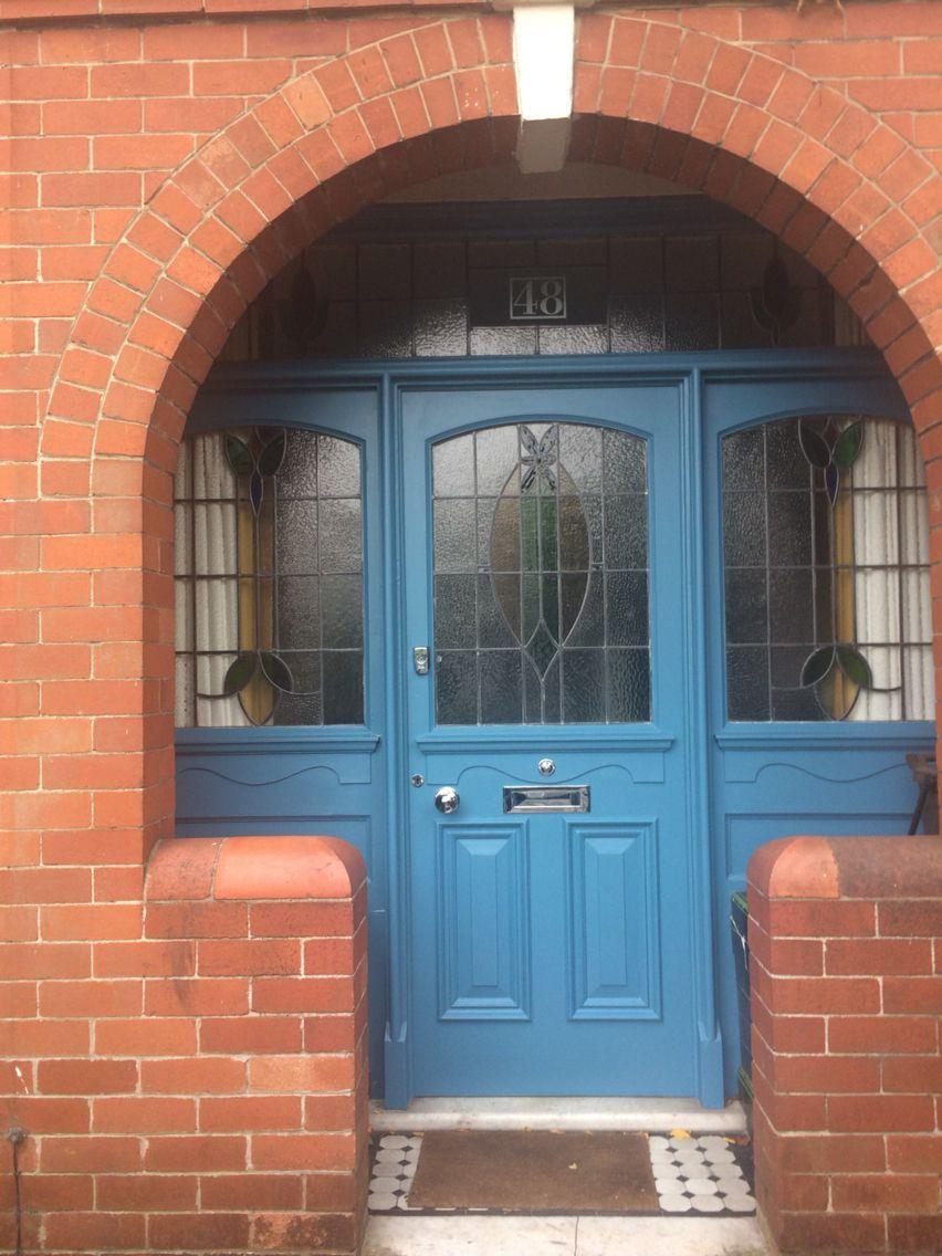 Little greene air force blue on our front door wont you please little greene air force blue on our front door rubansaba