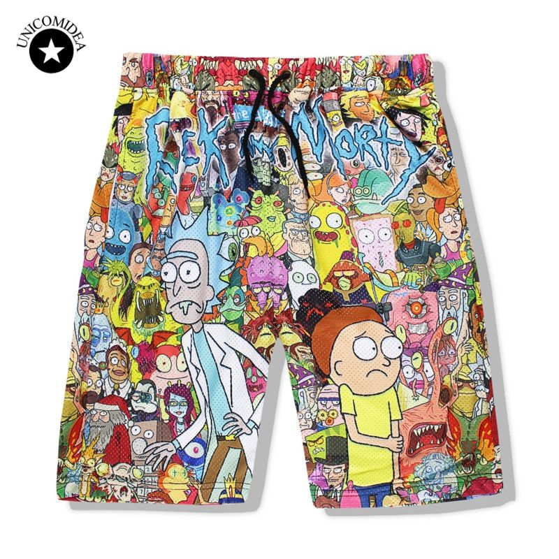 a2474f543e Click to Buy << Funny Boardshorts Rick And Morty Printed Men's Shorts  Sportswear Brand Beachshorts Men Short Pants 3d Male Casual Shorts Summer  #Affiliate