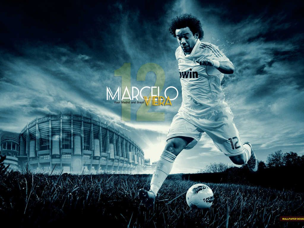 Marcelo Hq Wallpaper Papel Pintado Real Madrid Wallpapers