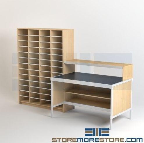 Modular Mailroom Furniture Sorter Kits & Casegoods Mail