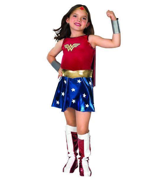 Wonder Woman Child\u0027s Costume Wonder Woman Costumes Pinterest - creative teenage girl halloween costume ideas