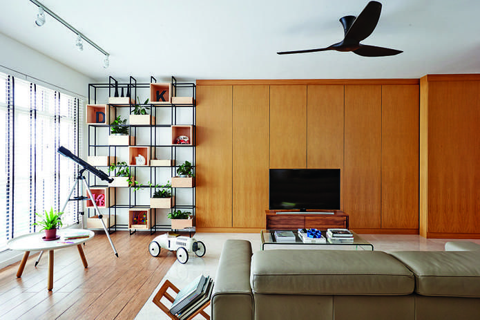 Living room design ideas: 6 simple and stylish feature walls | Open ...