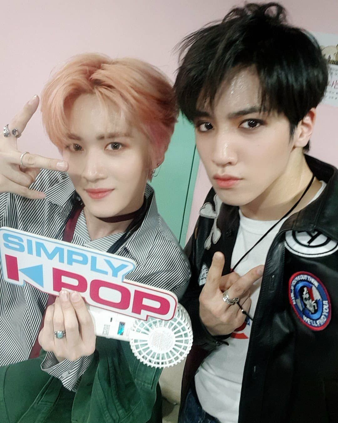 190404 Simply K-pop YanAn & Wooseok | Pentagon in 2019