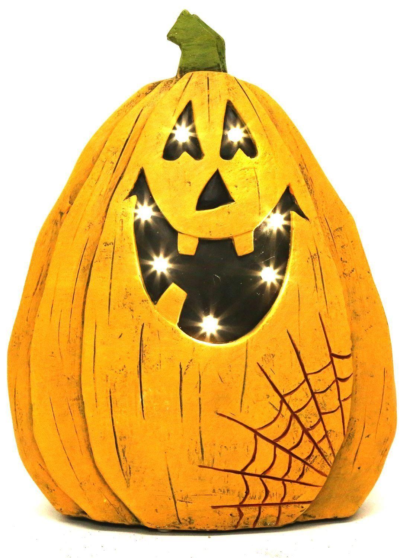 Light Up Battery Operated Led Jack O Lantern Pumpkin Halloween
