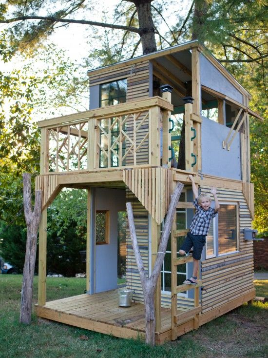 modern kids design kid s room pinterest baumhaus spielhaus selber bauen und spielhaus. Black Bedroom Furniture Sets. Home Design Ideas
