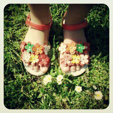 Les sandales printanières