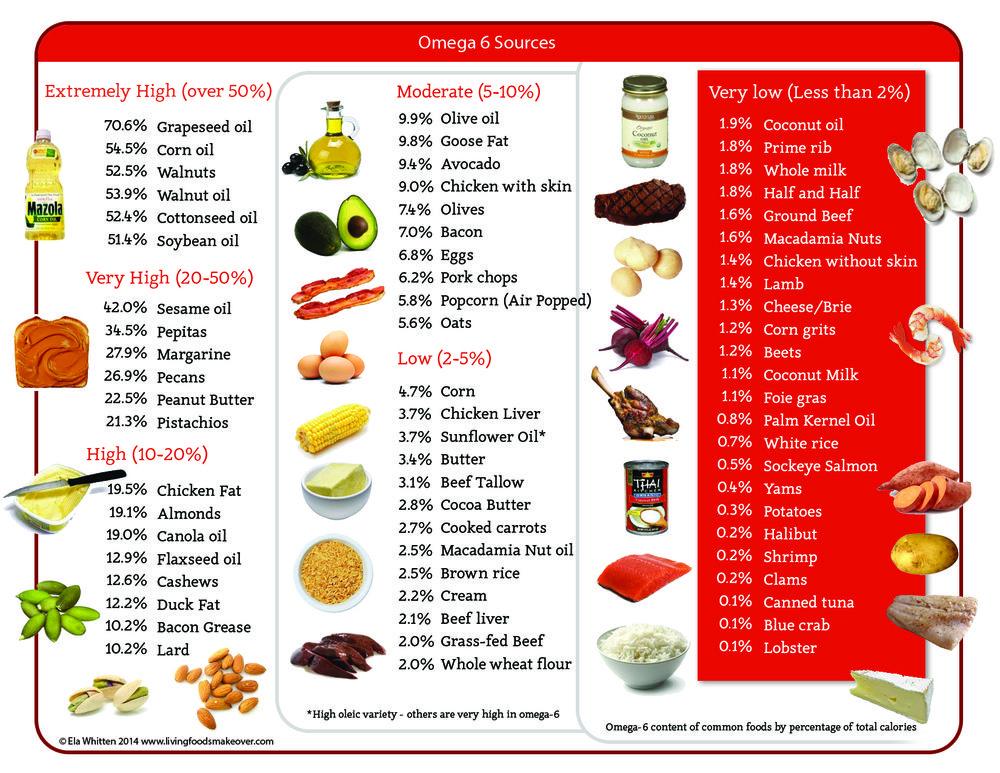 omega 6 foods
