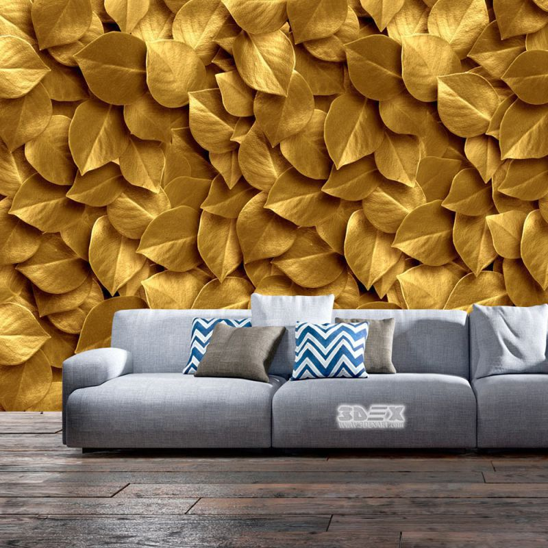 40 Stylish 3D wallpaper for living room walls  3D wall murals   3d     3D effect wallpaper designs for living rooms Move into the atmosphere of  the spring garden  enjoy realistic sea spaces or recreate the mystery of  the night